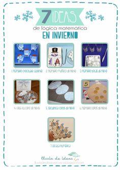LLUVIA DE IDEAS: Recursos: Ideas de lógica matemática en invierno para Educación Infantil