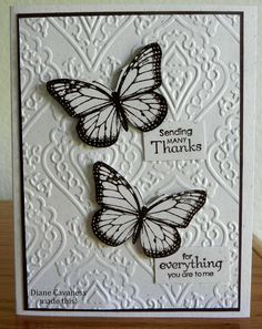 Stampin Up Best of Butterflies and Petite Pairs