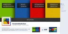 """Meine Facebook Seite """"Kreativitätsdenken"""". Freue mich über einen Besuch :-) [click the image for more]"""