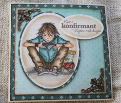 Mo card by Iren S. Mikalsen, Colored with copic