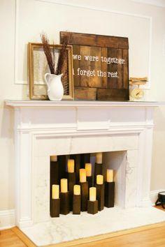 CGEH Fireplace Decor Idea