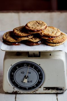 PB Cookie Sandwiches