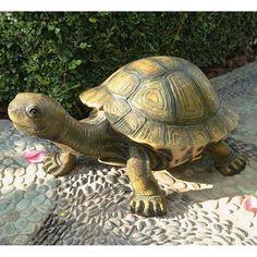 Design Toscano The Tranquil Tortoise Garden Sculpture