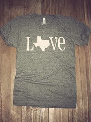 Classic State Love Tee- Texas   Charlie Southern