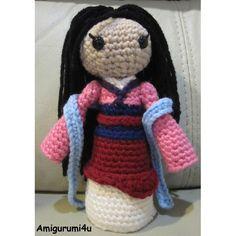 Mulan Disney Princess crochet