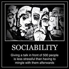 INFJ - Sociability