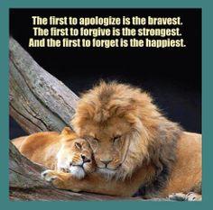 forgiveness lions