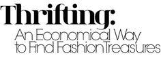 thrifting, fashionista