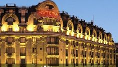 Hotel Lutetia - a Left Bank Art Deco masterpiece.