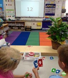 Build That Number Math Game For Kindergarten