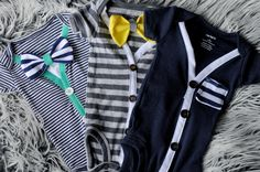 Preppy Cardigan baby boy  onesies.only one of each. one of a kind and only available for newborns. .. .little hipster
