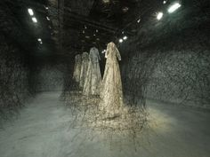 Japanese artist - Chiharu Shiota  'After the Dream'
