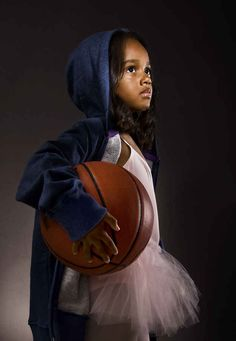 44 Stock Photos That Hope To Change The Way We Look At Women basketball players, real people, little girls, babi, beauti, girl power, photographi, kid, black girls
