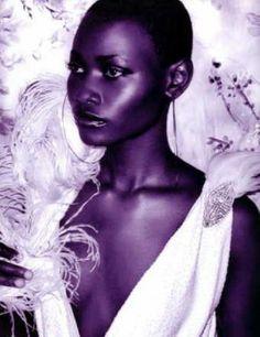Ghanaian model Belinda Baidoo.