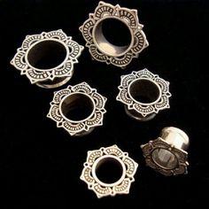 Tawapa gauged earrings