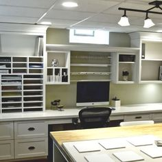 scrapbook room, craftroom and office, craft space, dream, crafting room, scrapbooking rooms, home offices, craft rooms, craft room design