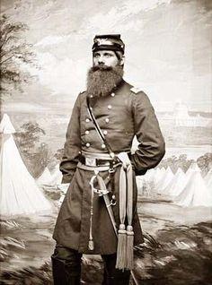 Major W.W. Cook, 5th New Hampshire Inf Civil War GOA