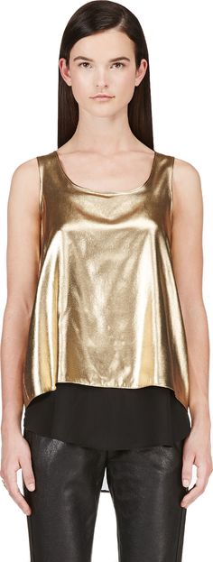 Altuzarra gold tank, $119 (was $495) + get an extra 20% off, ends tonight 7/16 (click through for details)