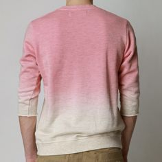 street fashion, sweater, cloth, color, fashion styles, pink, dip dyed, dips, dyes