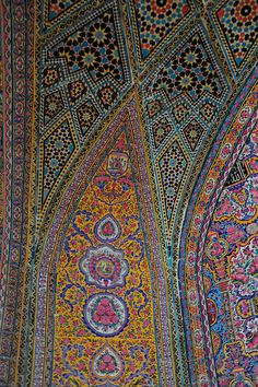 Tiles, Nasir Molik Mosque