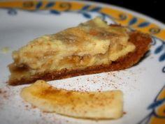 Fantastic Banana Cream Pie With Banana Graham Crust
