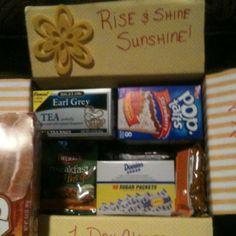 breakfast care package