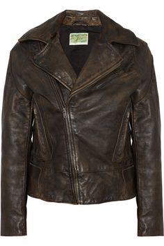 Levi's Made & Crafted Levi's Vintage Clothing leather biker jacket NET-A-PORTER.COM