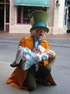 Mad Hatter with a Little Alice