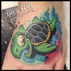 sea turtle tattoos | Tattoos > Page 32 > sea turtle 'toon