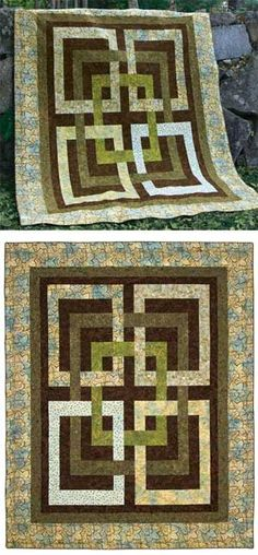 JOSEPHINES KNOT QUILT KIT