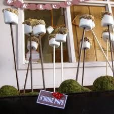 s'more pops... love this idea for a kids backyard sleepover