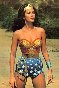 Wonder woman..She was my idol!!