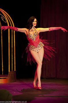 Dita's bird of paradise costume
