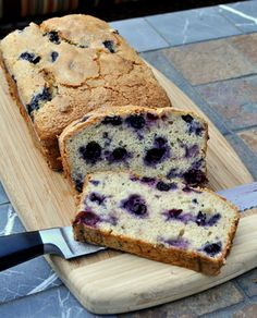 blueberry banana bread recipe. Made it this AM and had to taste it. It is amazing. From now on this will be the only banana bread I make.