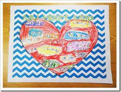 Adorable heart maps!