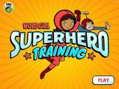 New app for kids - WordGirl Superhero Training by PBS KIDS