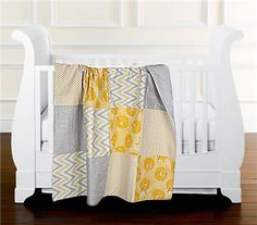 Baby quilt by Sarah! #quilt #yellow