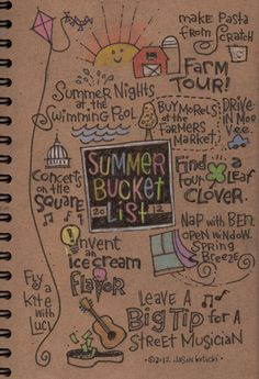 Escape Adulthood with Kim & Jason » Bucket List, Summer Edition