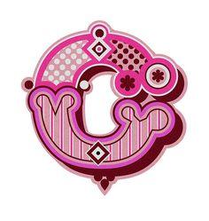 {Alphabet Letters} The letter 'C' #typography #letters #font #lettering #alphabet #pink