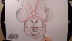 Learn to Draw: Minnie Mouse
