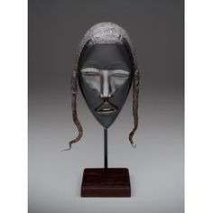 Face mask, Dan peoples, before 1940, Geographic location: Côte d'Ivoire, Guinea, and Liberia, Africa, Dallas Museum of Art
