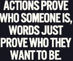 Actions gets you somewhere.. I just have to follow through now. Haha
