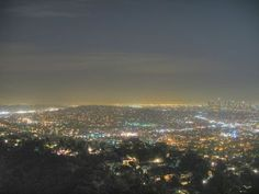 Boatful of Stargazers: Los Angeles from Griffith Park Observatory
