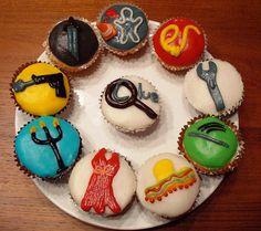 Clue Cupcakes