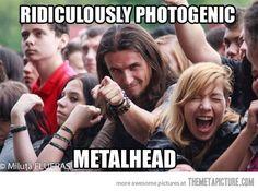 Metal just got glamorous.