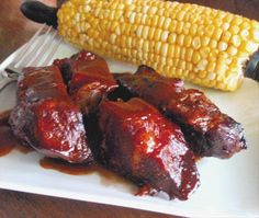 Crock Pot BBQ Ribs ( beef )