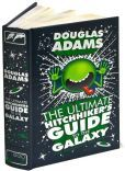 douglas adams, ultim hitchhik, barn amp, nobl leatherbound, book worth, book covers, hitchhik guid, leatherbound classic, galaxi barn