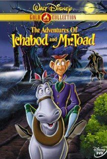 The Adventures of Ichabod and Mr. Toad. Love watching this every Halloween.