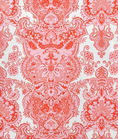 Amy Butler Sandlewood Ivory Laminated Cotton Fabric