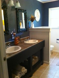 DIY Bathroom Remodel On Pinterest Hair Growth Tips Bathroom Cabinet Make